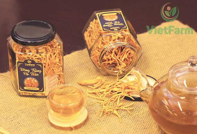 Sản phẩm đông trùng hạ thảo của Vietfarm