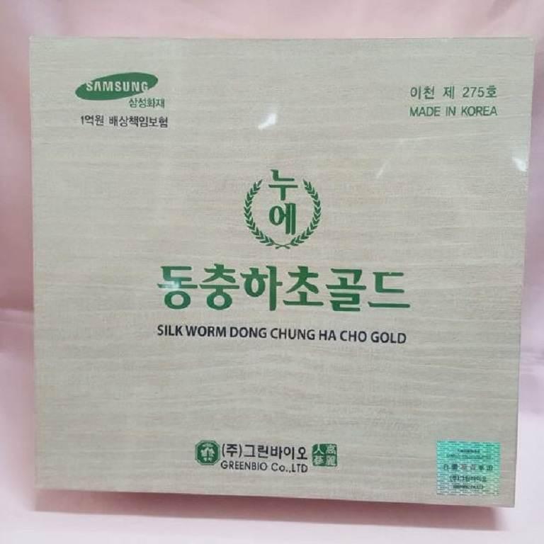 Sản phẩm trùng thảo hộp gỗ Samsung Bio nổi tiếng Hàn Quốc