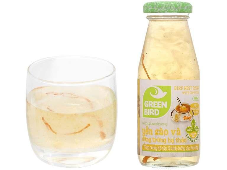 Nước Green Bird có mùi hương vani hấp dẫn tạo thu hút ngay từ lần sử dụng đầu tiên