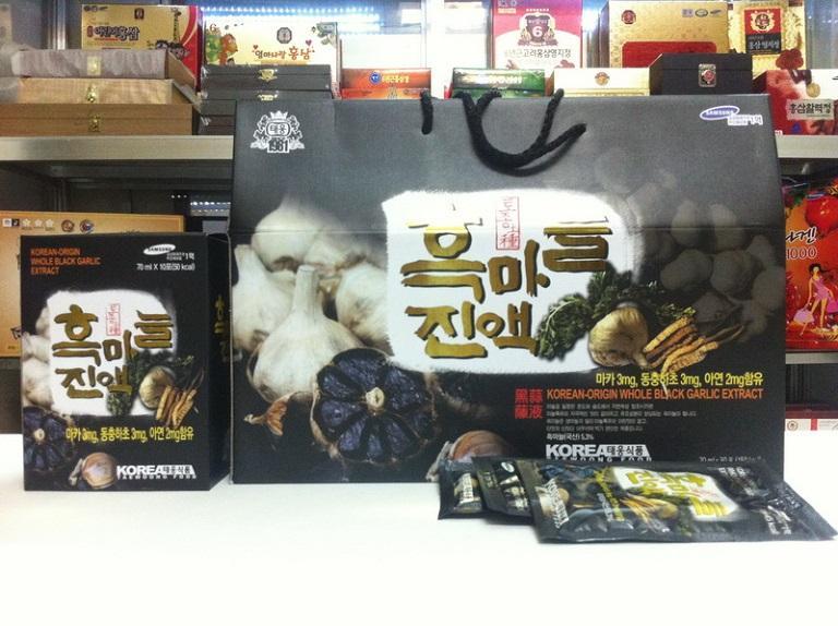 Tinh chất tỏi đen đông trùng Twfood Hàn Quốc