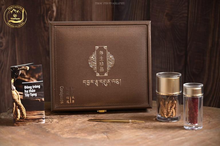 Đông trùng hạ thảo Tây Tạng VIP2 size 40 con/10gr chất lượng thượng hạng