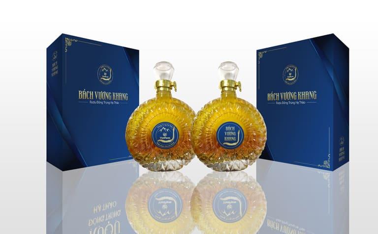 Rượu của Vietfarm với bao bì thiết kế đẹp được chọn làm quà tết