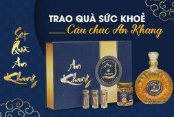 Set quà An Khang Đông trùng hạ thảo Vietfarm - Trao quà sức khỏe cầu chúc an khang thịnh vượng